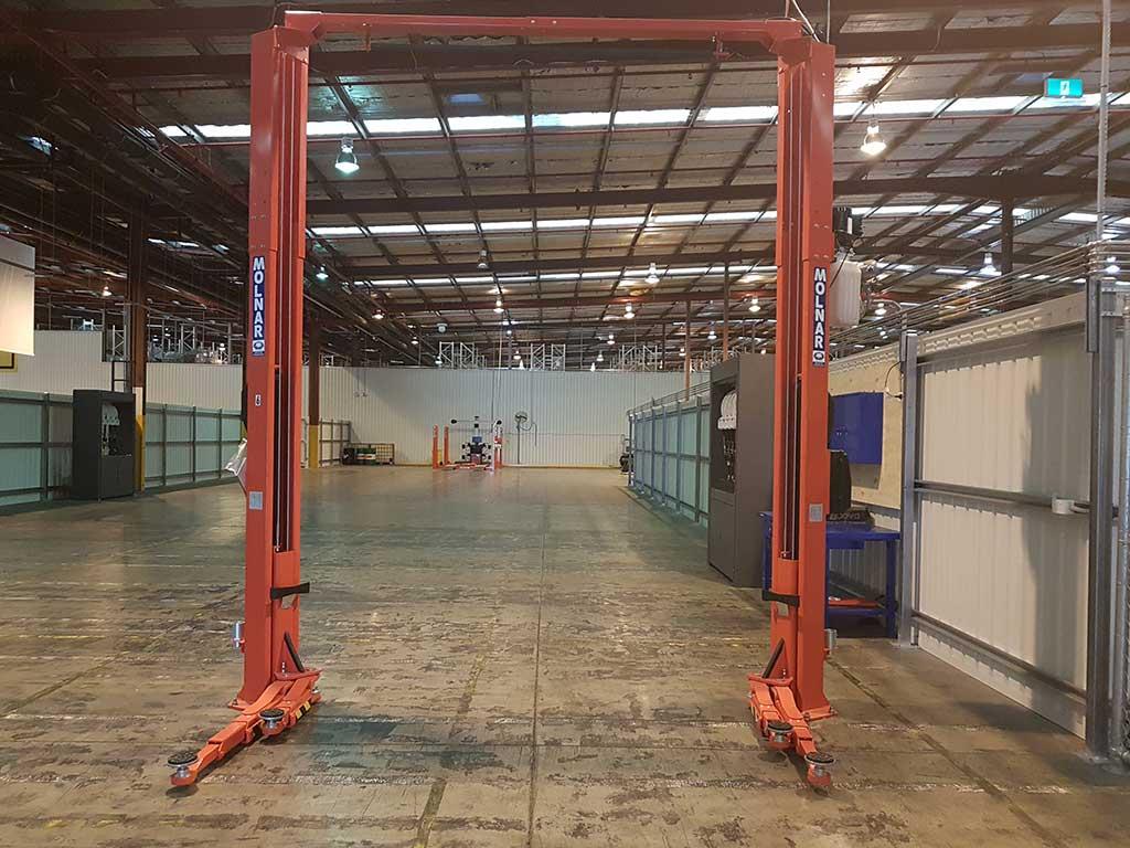 SM245 2 post car hoist garage workshop
